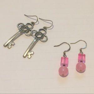 Bundle of 2 Dangling Earrings